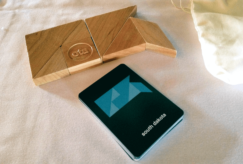 Custom tangram sets and cards for the OTA:Bismarck event