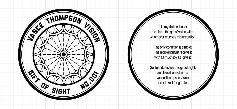 Artwork for Gift of Sight medallion