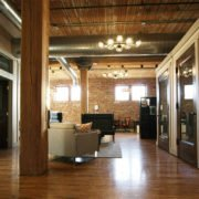 Interior of MJM's new space