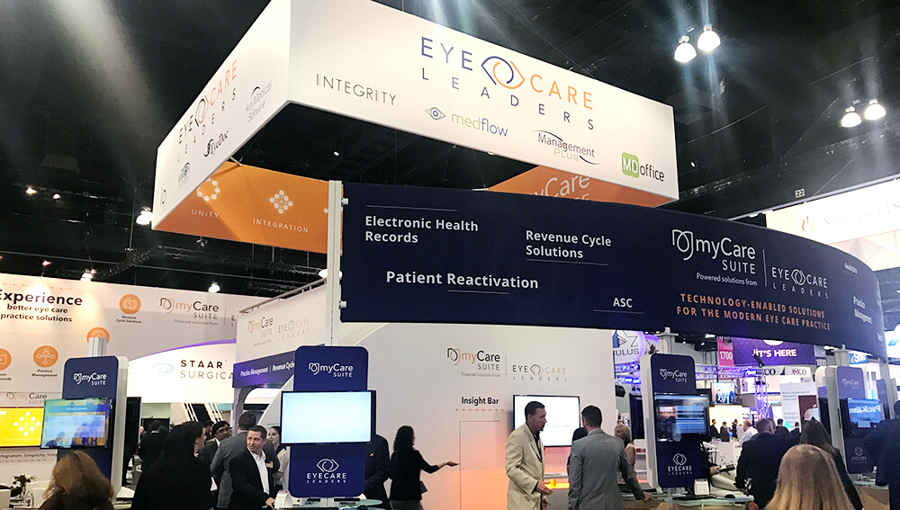 EyeCare Leaders booth at ASCRS