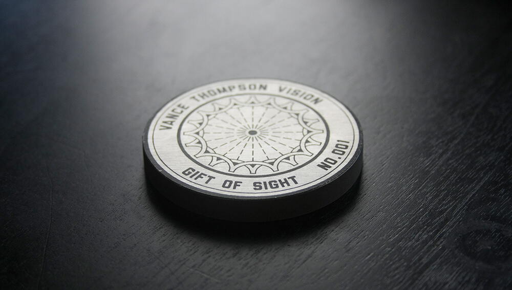 Gift of Sight medallion