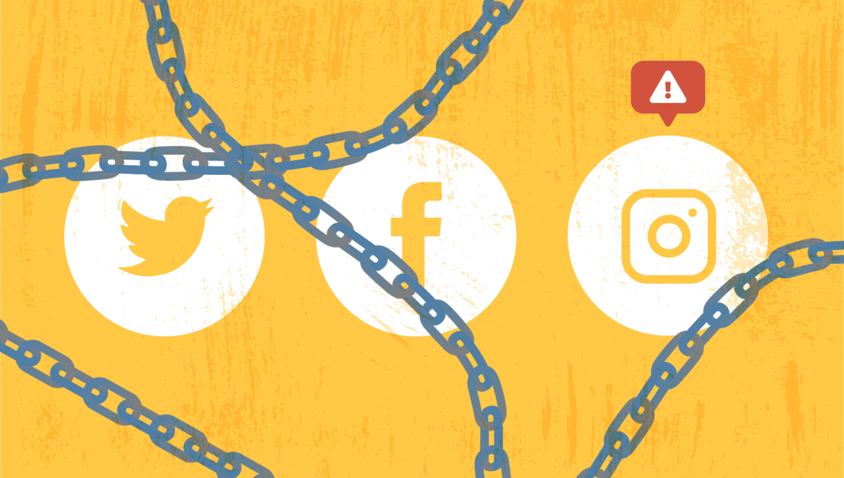 Locked out of your social account?