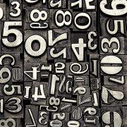 High contrast letterpress